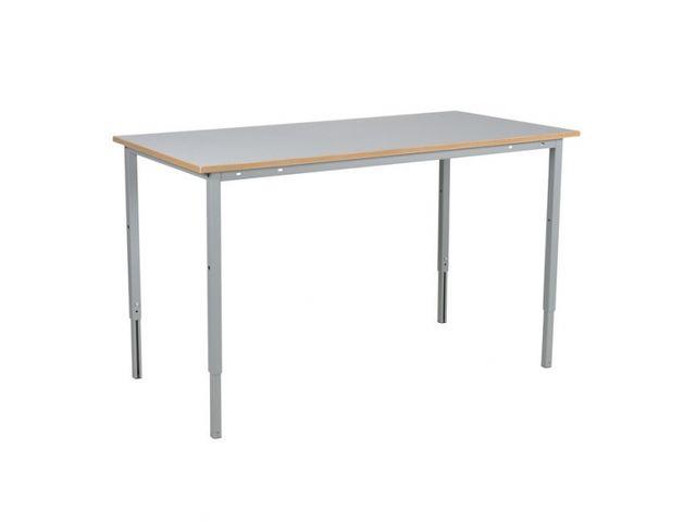 Table de travail r glable en hauteur contact roll co - Table de travail reglable en hauteur ...
