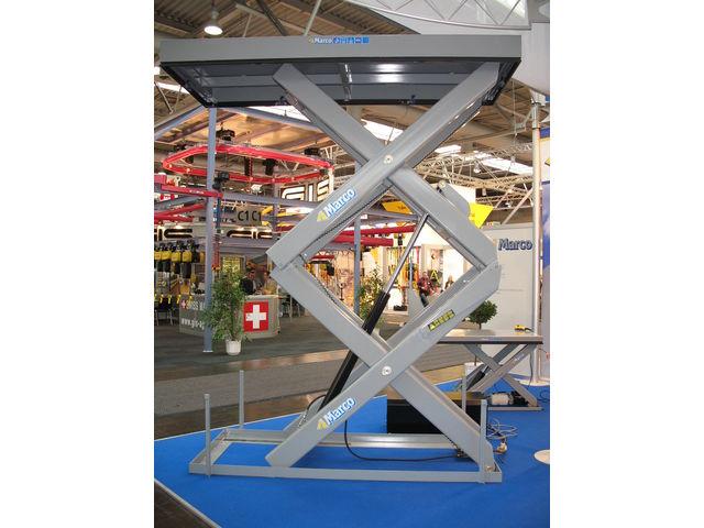 Table l vatrice double ciseaux marco contact marco for Table elevatrice a ciseaux