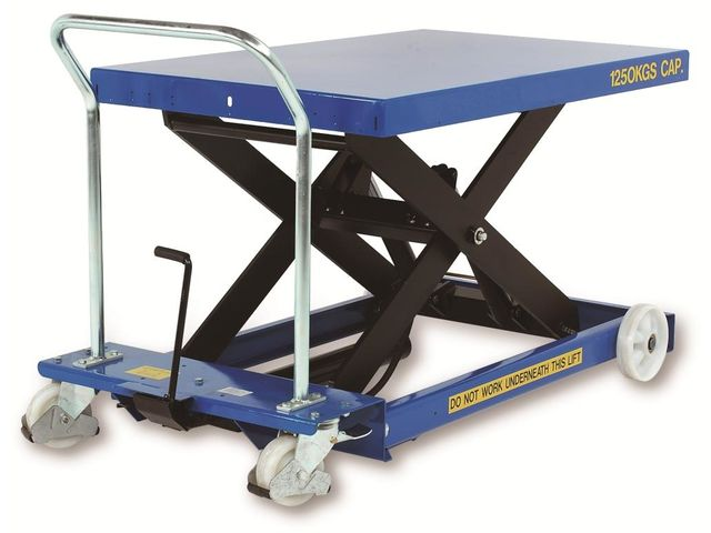 Table élévatrice mobile Advanced Handling – charges lourdes