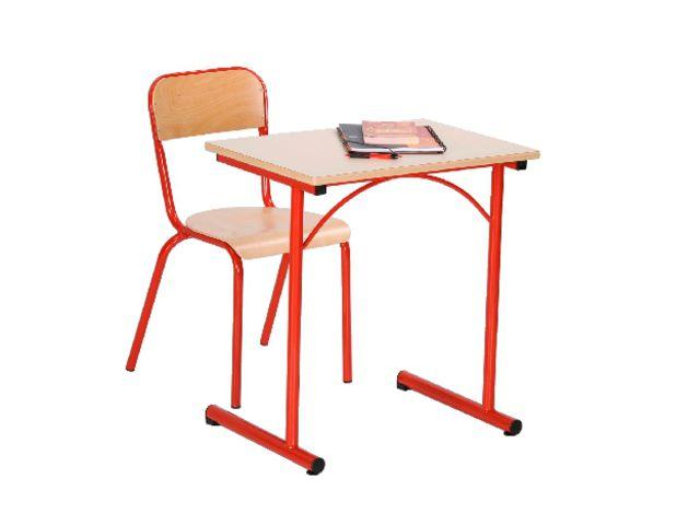 Table fixe atlas ii avec chants surmoul s contact manutan collectivites ex camif collectivites - Table camif ...