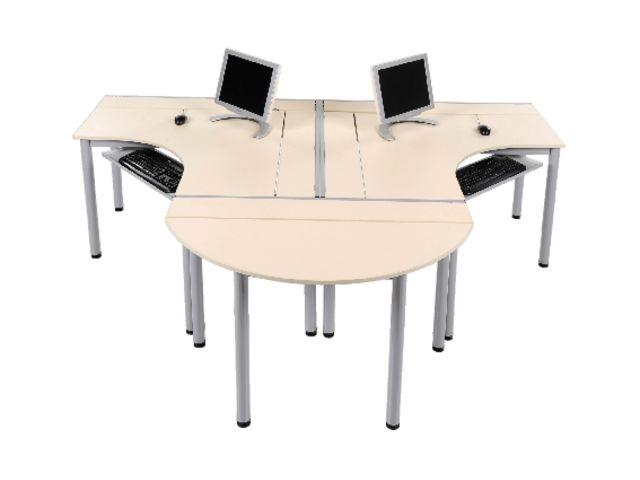 Table informatique figura plateau m lamin contact for Table informatique