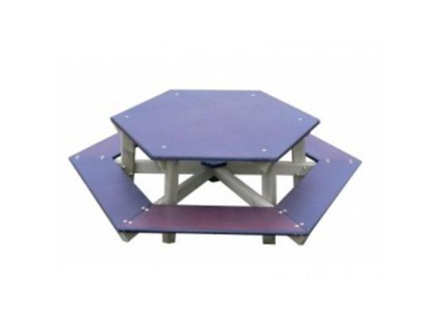 Table Pique Nique Enfant Hexagonale Contact Distribution