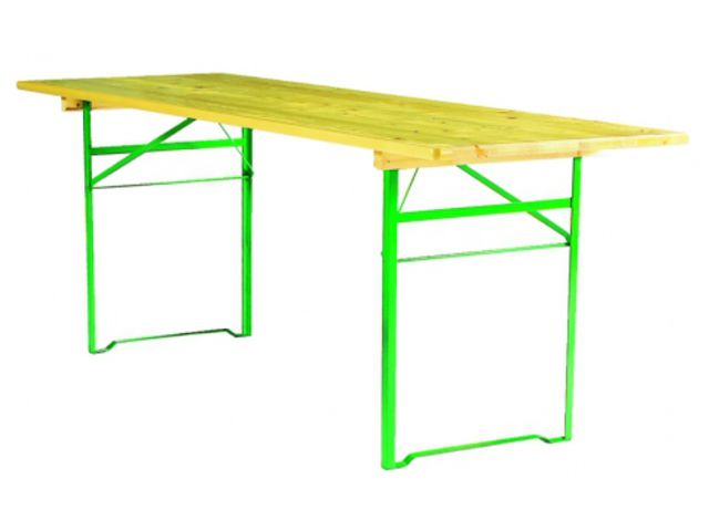 Table pliante corni re brasserie x 80 cm contact france collectivites for Pietement de table pliante