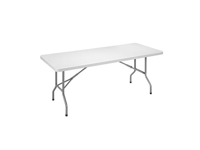 table pliante d'exterieur l 183 - p 76 cm | contact maxiburo