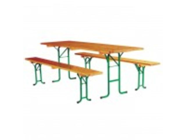 Table pliante fiesta l 220 x p 80 cm contact for Table pliante pour studio