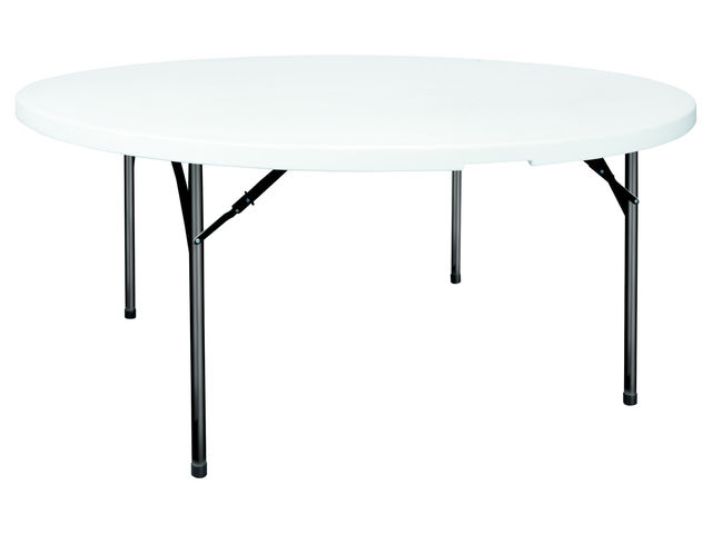 Table polypro ronde 180 cm contact france collectivites - Table ronde 180 cm diametre ...