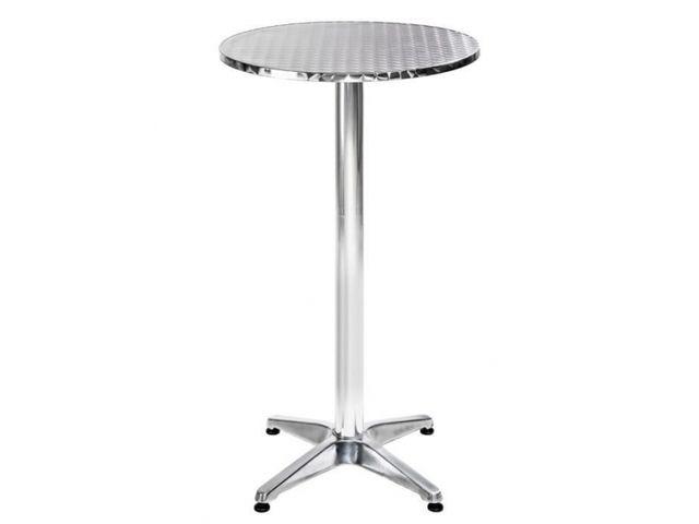 Table ronde haute alu restaurant Contact ROLLCO