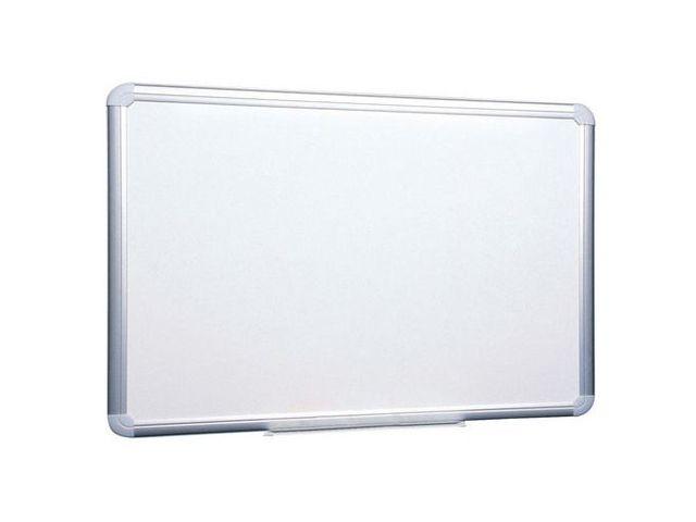 Tableau de Verre 90 X 120 Tableau Blanc 90x120 cm Inscriptible Rayures Panneau de Verre