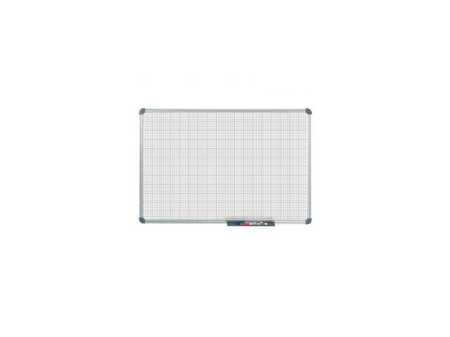 Tableau blanc office quadrillage 10 x 10 mm (60 x 90 cm)