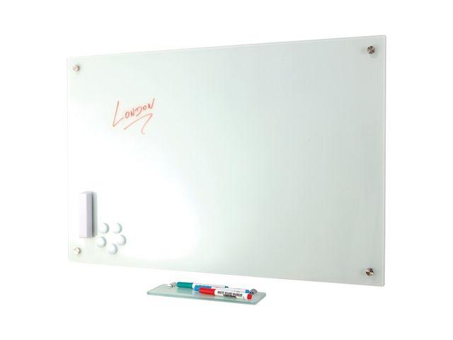 tableau blanc stylis en verre contact pro signalisation. Black Bedroom Furniture Sets. Home Design Ideas