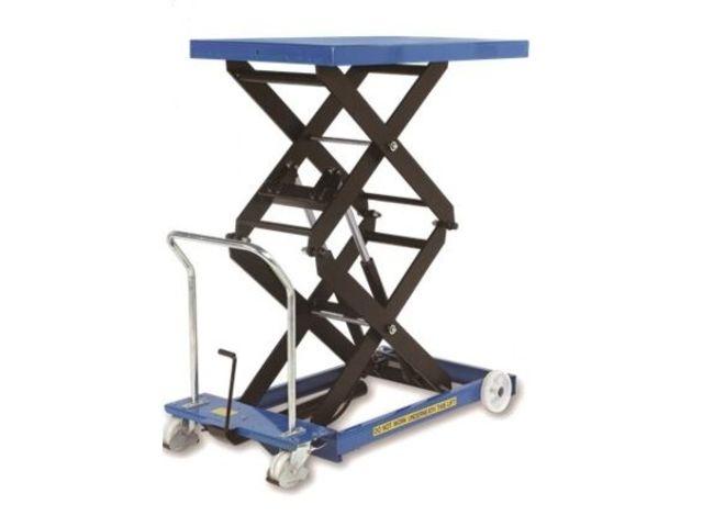 Tables l vatrices mobiles manuelles forte capacit de for P table with charges