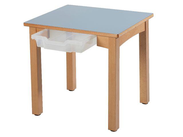 Tables fixes 4 pieds lana contact manutan collectivites ex camif collectivites - Table camif ...