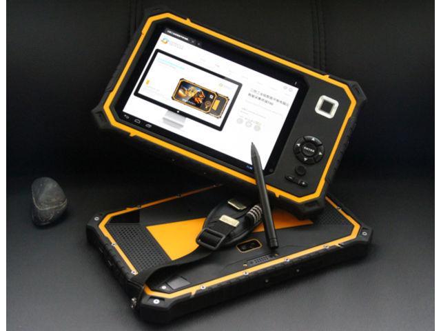 tablette durcie ip67 8 39 39 android lecteur code barre 1d 2d lecteur d 39 empreinte gnss rfid lf. Black Bedroom Furniture Sets. Home Design Ideas