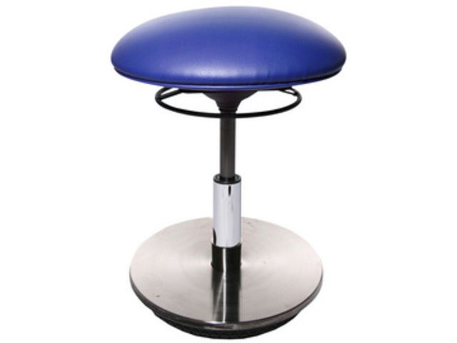 Tabouret ergonomique Sitness® assis bleu royal