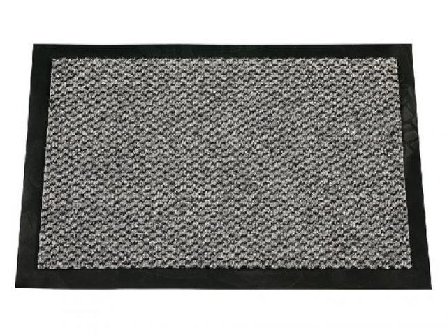 tapis anti salissures cahors gris 40x60 contact aixper. Black Bedroom Furniture Sets. Home Design Ideas