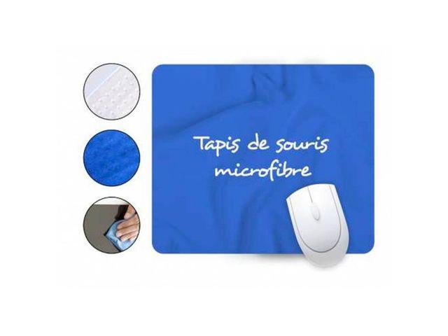 tapis de souris microfibre contact rue du print - Tapis Souris