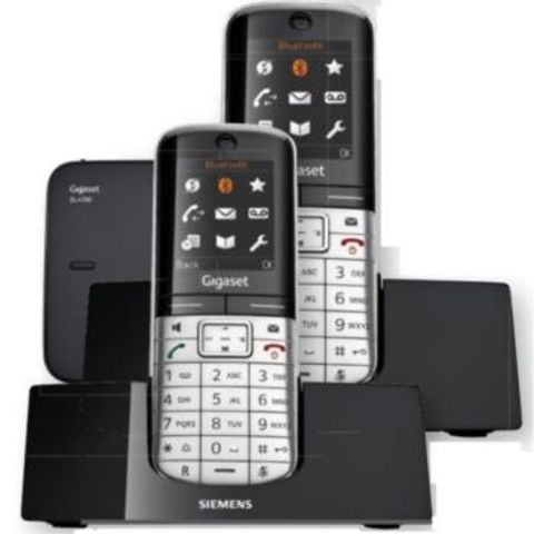 t l phone dect siemens gigaset sl400 duo contact one direct. Black Bedroom Furniture Sets. Home Design Ideas