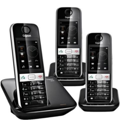 t l phone sans fil gigaset s820 trio contact one direct. Black Bedroom Furniture Sets. Home Design Ideas