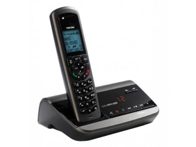 T l phone sans fil longue port e topcom ultra range sr1250b contact officeeasy - Telephone sans fil longue portee ...