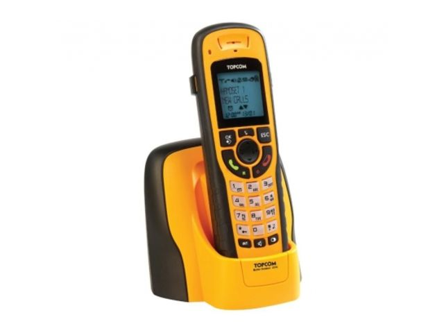 T l phones sans fil 1 combin topcom butler outdoor 2010 contact officeeasy - Telephone sans fil longue portee ...