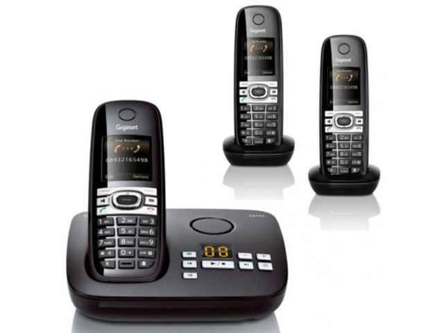 t l phones sans fil trio gigaset c610a trio contact. Black Bedroom Furniture Sets. Home Design Ideas
