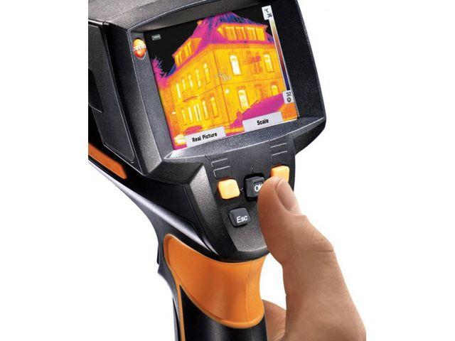 testo 875 2i cam ra thermique 19 200 pixels jusqu 39 550 c contact distrimesure. Black Bedroom Furniture Sets. Home Design Ideas