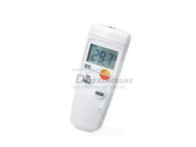 Thermomètre infrarouge - 05608051 TESTO 805_DISTRIMESURE