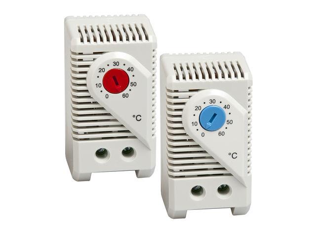 thermostat pour commande de ventilation d 39 armoire kts 011. Black Bedroom Furniture Sets. Home Design Ideas