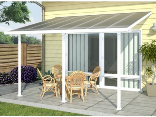 Couverture terrasse alu en 6 x 4 m | Contact FRANCE ABRIS