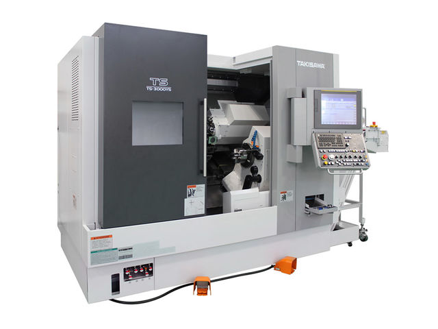 Tour monobroche axe Y - Takisawa TS-3000Y_TRANSTEC MACHINES OUTILS_1