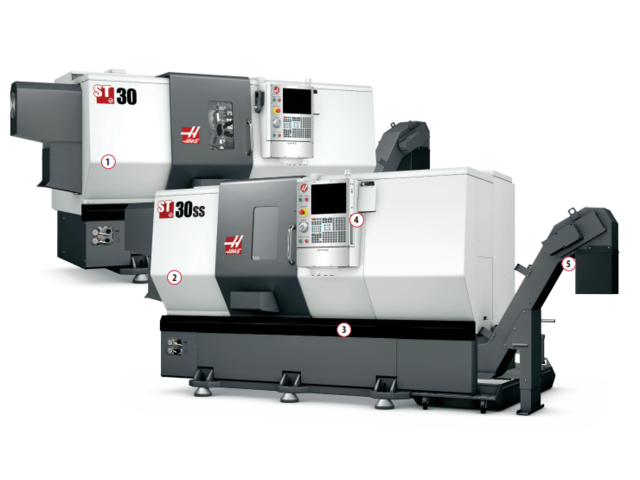 Tours grande vitesse ST-30SS - HAAS AUTOMATION EUROPE
