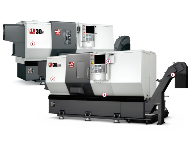 Tours grande vitesse ST-30SSY - HAAS AUTOMATION EUROPE