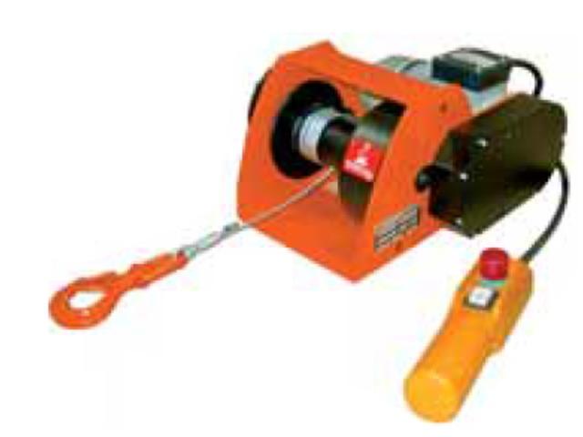 treuil electrique de levage ou traction 220 volts mono contact selm. Black Bedroom Furniture Sets. Home Design Ideas