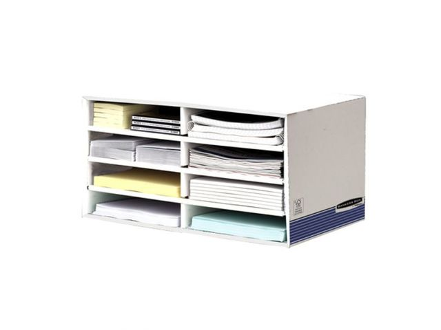 Trieur de bureau 8 compartiments fellowes contact roll co for Fournisseur fourniture bureau