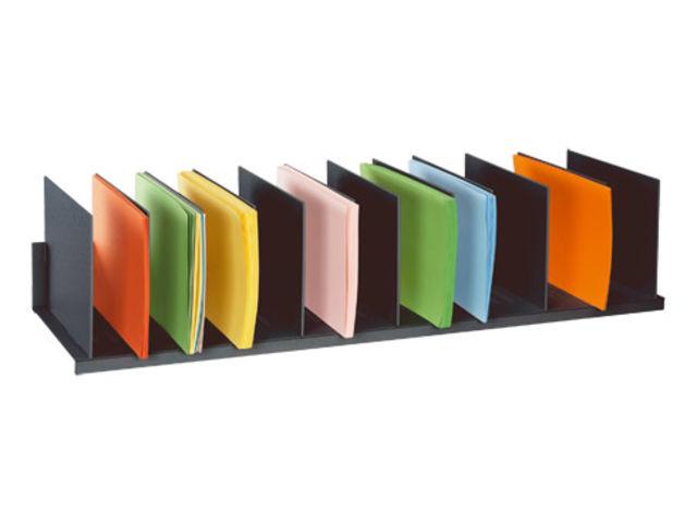trieur de classement 12 s parations r glables couleur contact maxiburo. Black Bedroom Furniture Sets. Home Design Ideas