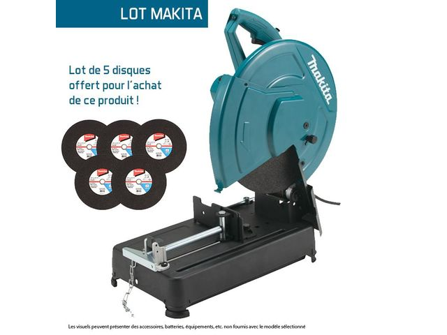 tronconneuse a metaux 2200 w disque abrasif o 355 mm makita contact protoumat. Black Bedroom Furniture Sets. Home Design Ideas