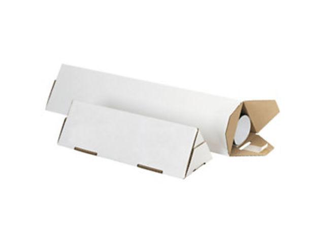 tube carton triangulaire blanc triopac contact raja. Black Bedroom Furniture Sets. Home Design Ideas