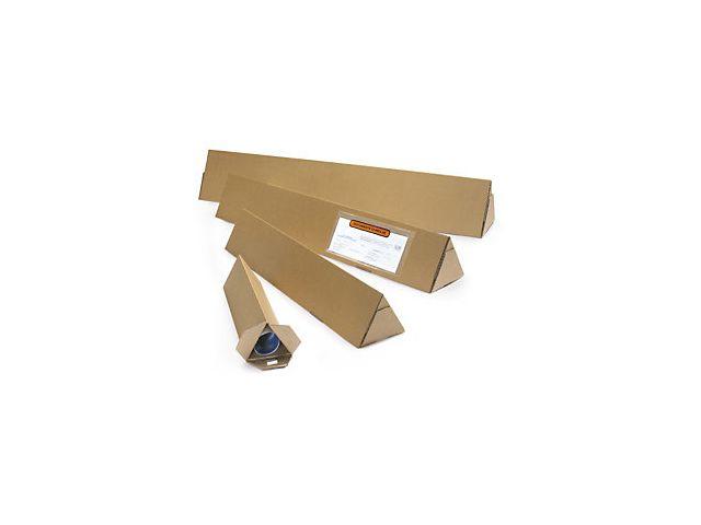 Tube rond d/'expédition carton avec embouts Ø 60 x 43 cm emballage carton de 100
