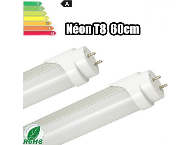 Tube n on led t8 60cm blanc froid contact fcs distribution - Tube neon pour cuisine ...