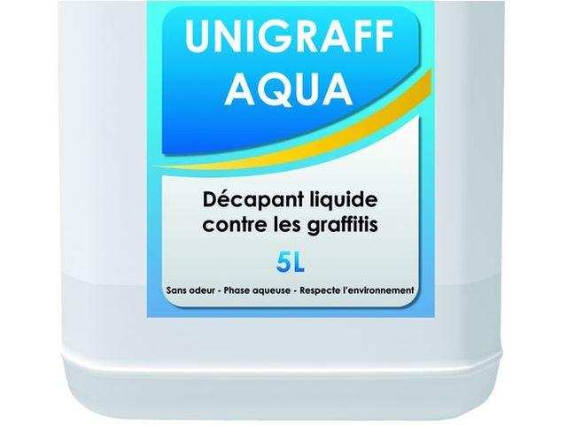 Unigraff aqua d capant liquide contre les graffitis - Peinture unikalo prix ...