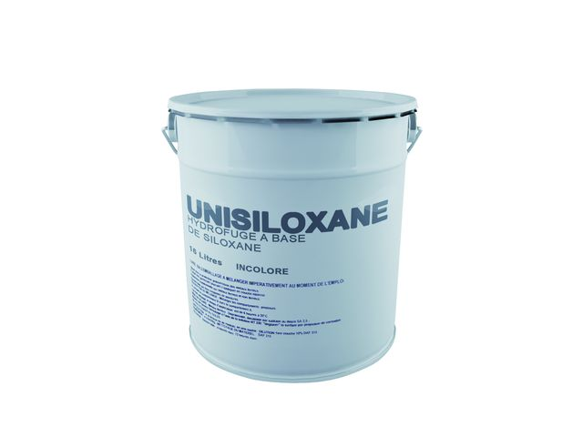 unisiloxane hydrofuge incolore a base de r sine polysiloxane en phase solvant contact. Black Bedroom Furniture Sets. Home Design Ideas