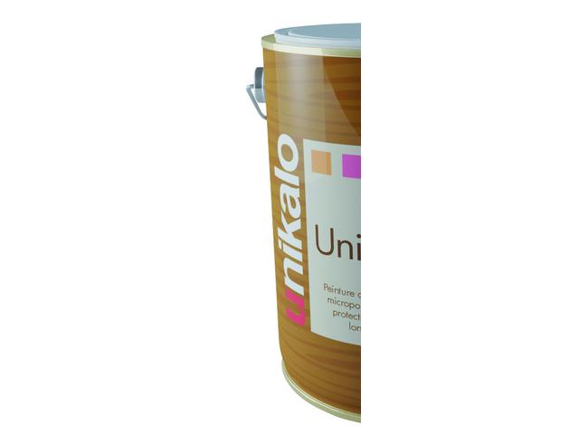 Unistop bois evolution peinture multicouche a base de r sine alkyde satin e pour la protection - Peinture unikalo prix ...