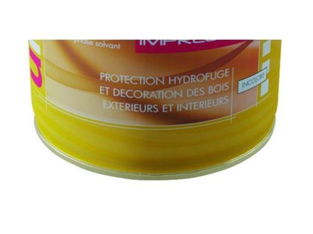 Uniwood thd impr gnation lasure d impr gnation incolore a base de r sine alkyde en phase - Peinture unikalo prix ...