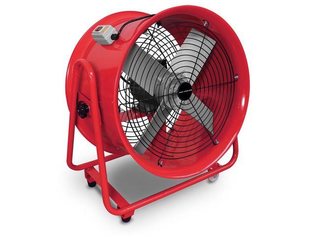 VEVOR Ventilateur De Cylindre 1100w Extracteur Industriel Avec Une Poign/ée Et 4 Pieds En Caoutchouc Pour Des Usines//Fermes De Chantiers Navals