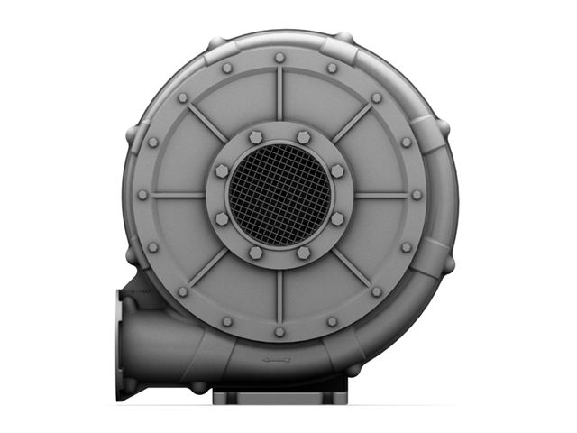 Ventilateur extracteur d 39 air industriel moyenne pression for Montage extracteur d air