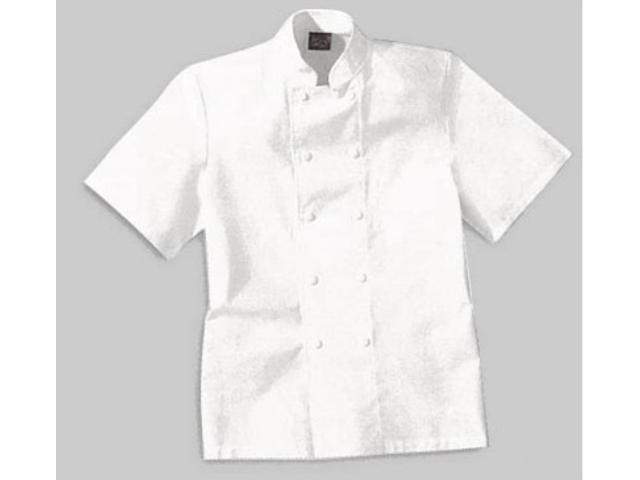 Veste de cuisine manches courtes coton contact icpro - Formation courte cuisine ...
