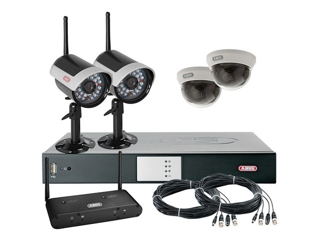 vid osurveillance kit cam ras enregistreur num rique contact argosse. Black Bedroom Furniture Sets. Home Design Ideas