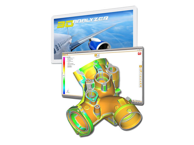 Viewer CAO - 3D_Analyzer - Automobile, Aéronautique, Défense, Robotique, Plasturgie