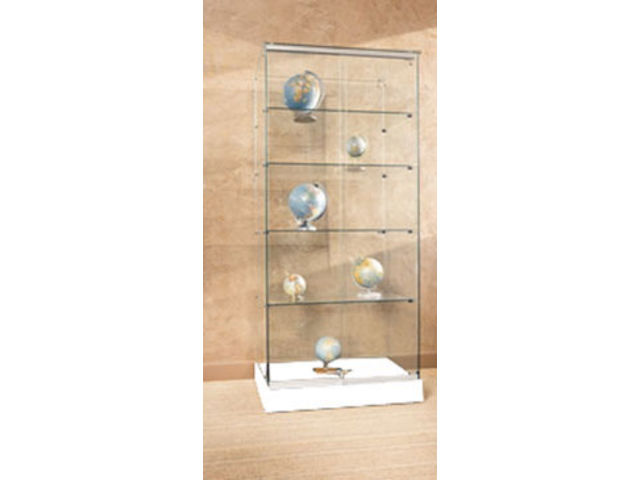 Vitrines d 39 expositions fournisseurs industriels - Vitrine d angle en verre ...