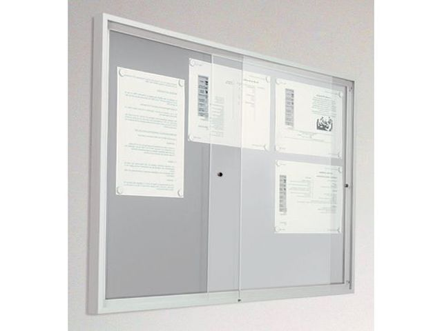 Vitrine int rieur avec portes coulissantes acier for Vendeur de porte interieur